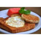 Sunshine Toast - This is a quick easy recipe, for lovers of fried eggs on toast.  It's a clever twist on usual fried eggs.