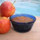 Blushing Applesauce - This applesauce is a pretty shade of pale pink because the apples are cooked in their skins.