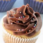 Caroline's Chocolate Fudge Frosting - A good fudgy frosting for cake or cupcakes.