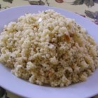 Couscous Feta Salad - I got this great recipe from a friend and it has become a summer favorite! It is light and refreshing. Great as a side or as a light meal. Walnuts are a nice substitute for the pine nuts.