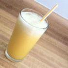 Orangemade - A slushy citrus drink that's a refreshing mix of orange juice and lemon juice. This recipe was created by kids, but is enjoyed by everyone!