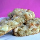 White Chocolate Macadamia Nut Cookies IV - These have become the family's new favorite cookie!  The white chocolate gives a rich taste to these cookies.  I guarantee you will love them.