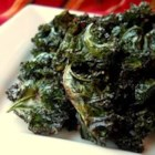 Chili-Roasted Kale - This recipe was adapted from one of my favorite methods of preparing broccoli and cauliflower - roasting at high heat with the bold flavor of chili powder. The result with kale is a little outrageous - fiery flavor with a unique crispy texture!