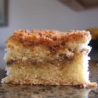 Shari's Streusel Coffee Cake - A tender slightly spicy coffee cake with layered with streusel.