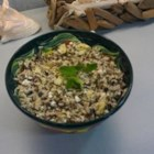 Minty Orzo Lentil and Feta Salad