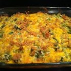 Awesome Broccoli-Cheese Casserole - My mom used to make this easy recipe every Thanksgiving when I was little. We kids could never get enough! It was our very favorite Thanksgiving vegetable. If you have children, or have some coming to visit you as guests this Thanksgiving, I guarantee that they will eat (and enjoy) this veggie dish! Even though I rarely cook with canned condensed soups, I still make this yummy broccoli casserole during the holiday season. It's fabulous with a Christmas ham and potatoes au gratin too. (Note: Be sure to use sharp Cheddar cheese for a nice full flavor.)  Mmmmmmm!