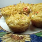 Kugel - Loads of egg noodles and eggs make this a filling dish that's easy to make.