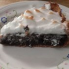 Chocolate Pie II - Whipped up in the microwave in no more than 7 minutes, this yummy chocolate pie is perfect for last-minute dinner guests. Doll it up with mounds of whipped cream and chocolate curls.