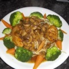 Merwin's Chicken Marsala - Sauteed chicken is graced with mushrooms in a bath of Marsala wine and herbs.