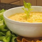 Buffalo Chicken Dip - Five simple ingredients in your slow cooker make this creamy, cheesy, zesty hot dip that tastes just like Buffalo chicken wings.