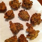 Grammy's Clam Fritters - Minced clams are the savory star in these golden brown clam fritters.