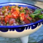 Fresh Salsa - This salsa is loaded with vegetables, including plum tomatoes, jalapeno peppers, onions, and jicama.
