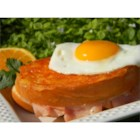 Croque Madame - This recipe is a favorite in my family!  I take a French class and I bring these little sandwiches to the French meeting.  This typical French delectable is always on the menu in little French cafes.
