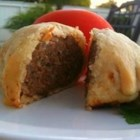 Ground Beef 'Wellington' with Fennel - I took the idea of wrapping beef in pastry from the traditional beef Wellington to make a simpler dish with the kick of fennel seeds and cayenne. I serve these with tomato sauce.