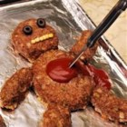 Dead Man Meatloaf - Traditional meatloaf made creepy. Kids love this. Be sure to feed them before they go trick-or-treating.