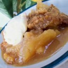 Caramel-Apple Crisp - This dessert is easy enough for a weeknight treat. Serve it warm with a dollop of whip cream or a scoop of vanilla ice cream.