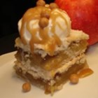 Danish Pastry Apple Bars I - Serve warm or cool, topped with powdered sugar or whipped cream. For best results use a tart baking apple such as Cortland, Rome, or Northern Spy.