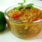 Fresh Salsa I - This all purpose salsa is great on tortilla chips, tacos and other Mexican-style favorites. Roasted jalapeno chile peppers give the salsa an excellent flavor.