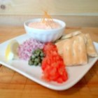 Smoked Salmon Mousse - This smoked salmon dip, made with cream cheese, lemon juice, and dill, is easy to make in your food processor.