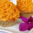 Mashed Sweet Potatoes - Simple mashed sweet potatoes flavored with maple syrup and butter.