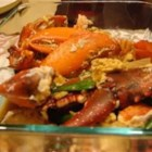 Cantonese Style Lobster - This stuff is so, so good! My grandma, who is Chinese, makes this every time I go to see her, ever since I was little. I love this stuff!
