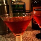 Candy Apple Martini - Perfect for fall, this recipe contains the flavors of both apples and cranberries.