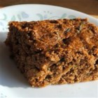Banana Bran Zucchini Bread - Whole-grain zucchini bread, packed with fruit and fiber, is a low-fat treat.