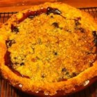 Concord Grape Pie II -  This very flavorful grape pie has the added delight of a yummy brown sugar, butter and rolled oat crumble topping that adds wonderful taste and crunch to each bite.
