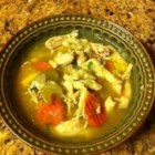 Spaetzle and Chicken Soup - This recipe is from my grandma and I have loved it ever since I was a child. I could eat it EVERY day. The homemade noodles are simple, and you can use frozen chicken breast if you don't have time to use a whole chicken.