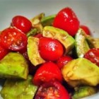 Avocado and Tomato Salad - A simple yet elegant salad sure to impress your guests!