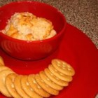 Shrimp Spread II - This is a wonderful hot shrimp spread for crackers. It's quick and easy, and it goes quickly whenever it's served.