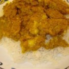 Easy Chicken Korma - This is the easiest korma recipe I have!  A winner for us.  Not too spicy, but lots of flavor. If you have ever wanted to try Indian food, this is a good one to start with.