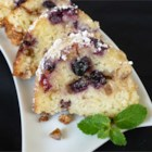 Blueberry Sour Cream Coffee Cake - One really delicious and really unhealthy Sunday coffee cake. I have no idea where I got this recipe from but it was about thirty years ago and has been a family favorite since. The bake time is a bit longer if you're using frozen berries.