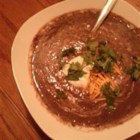 Fast and Delicious Black Bean Soup - A fast and easy recipe for black bean soup sure to delight your taste buds.
