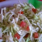 Cabbage Cut-Up - Cabbage Cut-Up is similar to a cole slaw. It's easy to make and not full of mayonnaise, so it's great for someone on a diet or looking to eat healthier. You can use more or less lime depending on your personal preferences.