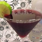 Concord Cosmopolitan Martini - This dark, tangy cocktail is great for an evening in.