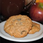 Cranberry-Nut Oatmeal Cookies - Chewy golden oatmeal cookies with dried cranberries and pecans are a perfect fall treat.