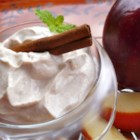 Cinnamon Apple Delight - Protein-rich Greek yogurt pairs with cinnamon-spiced apples for a quick, sweet, pick-me-up treat.