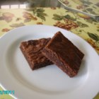Best Brownies - Cakey on the outside and fudgy in the middle, this easy brownie recipe really is the best! Done in an hour.