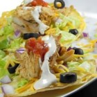 Ranch Chicken Tacos - Turn leftover rotisserie chicken into kid-friendly ranch chicken tacos. Corn tortillas are filled with shredded chicken, your favorite taco fixings, and a creamy sour cream ranch dressing.