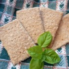Oatmeal Crackers - Tender crackers made from oat flour, whole wheat flour, and a few other simple ingredients make nice quick treats for the kiddies. Make them sweet or savory by varying the seasonings. Grown-ups like them too.