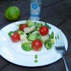 Avocado-Lime Shrimp Salad (Ensalada de Camarones con Aguacate y Limon) - This easy shrimp salad contains no lettuce. It's perfect for barbeques or as a 'change of pace' dinner side dish. Customize this recipe with your favorite salad dressing in place of the lime juice. The lime gives it a tiny tangy kick.