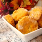 Pumpkin Biscuits - A staple in our holiday bread basket. Originally submitted to ThanksgivingRecipe.com.
