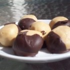 Buckeye Balls I - This is a great Christmas candy to have at home with your family or give as a gift.
