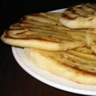 Naan Bread - A yeast-raised East Indian flat bread with a delicious chewy texture.