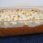 Sweet Potato Casserole II - Mmm! Sweet potatoes topped with creamy toasted marshmallows.