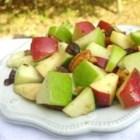 Waldorf Salad with Walnut Vinaigrette