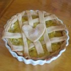 Pineapple and Lemon Pie -  Pineapple and lemon are stirred into a simple custard filling that is then poured into a pastry shell, topped with a pretty lattice, and baked. Serve chilled with sliced strawberries.