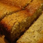 Lemon Poppy Seed Loaf - This has a nice fresh lemon flavor.  Makes nice muffins, also.