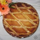 Easter Grain Pie - This fruity ricotta and wheat pie is dense and moist and very good. A real Italian treat for Easter.